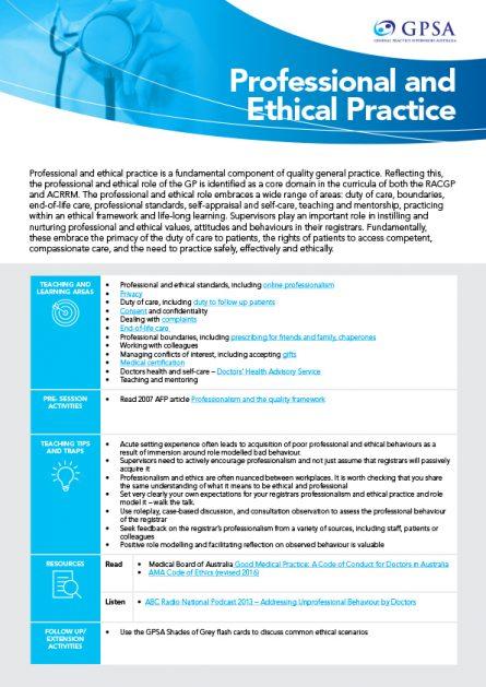 Teaching aid_professional&ethica practice