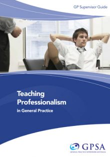 Teaching professionalism