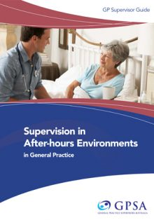GP Supervision after hours