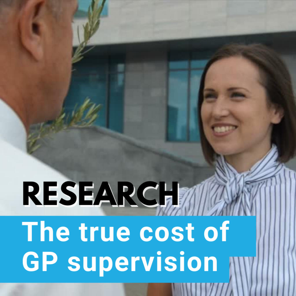 Cost of Supervision Research